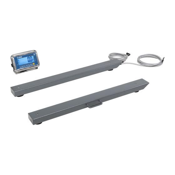 Imagem das barras de pesagem WB 100 - Cachapuz