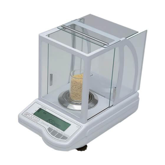 Imagem da balança analítica química - Crystal