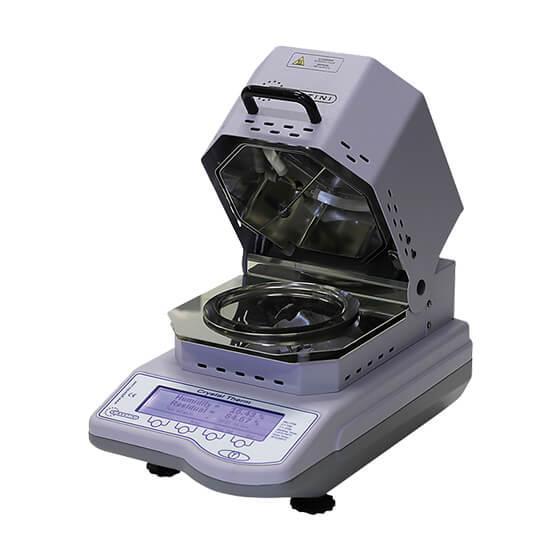 Imagem da termobalança de laboratório - CRYSTAL THERM