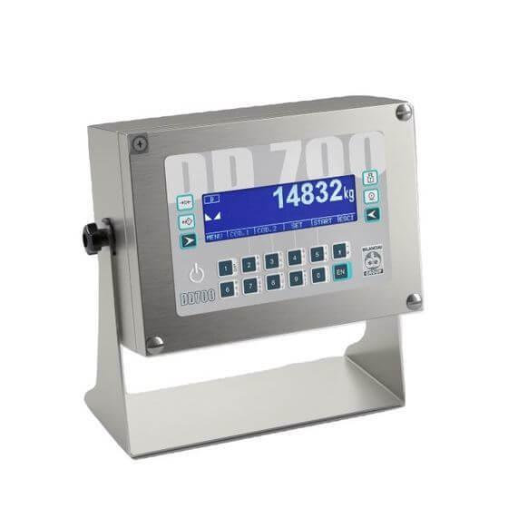 Imagem do indicador de pesagem para balança de veículos - DD700ic
