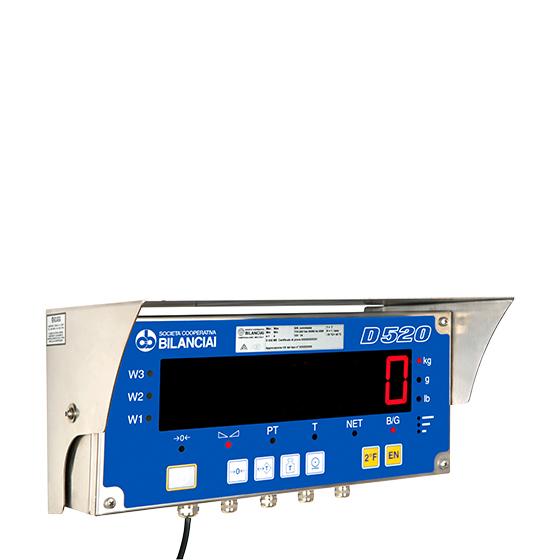 Imagem do terminal de pesagem para balança industrial - D520