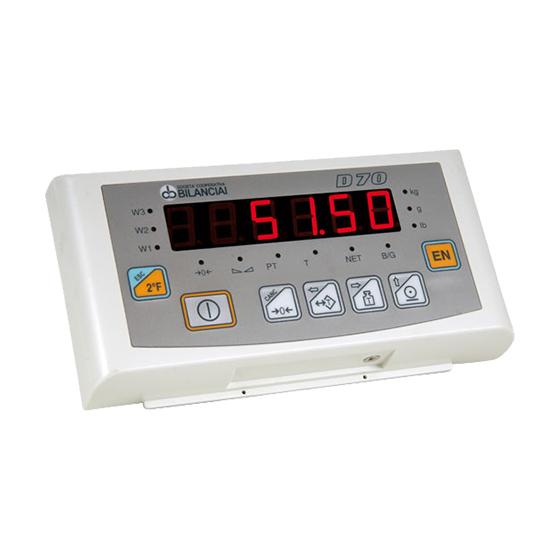 Imagem do sistema de pesagem para balança de piso industrial - D70E