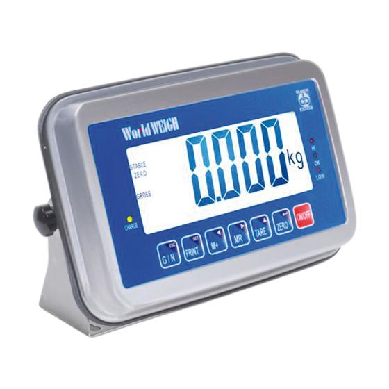 Imagem do controlador de peso para plataforma de pesagem - E520i