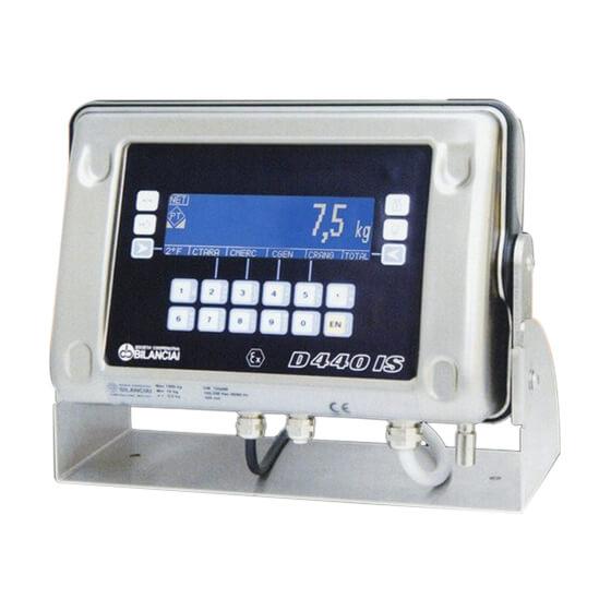 Imagem do terminal de pesagem para balança de contagem - D440 IS