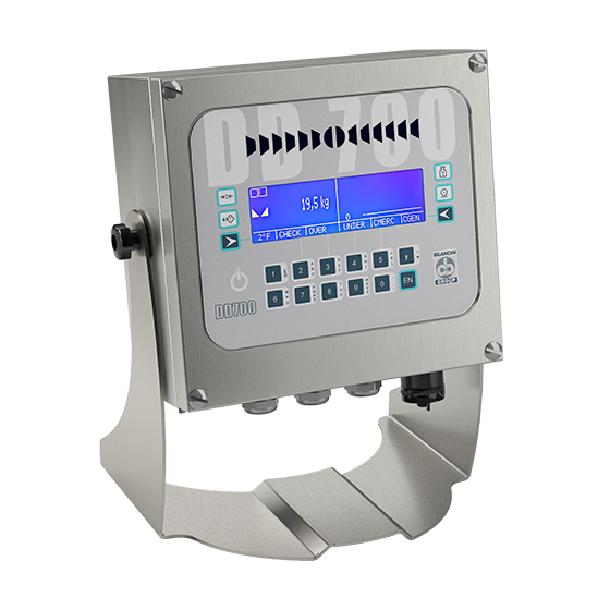 Imagem do controlador de peso para báscula de camiões - DD700i