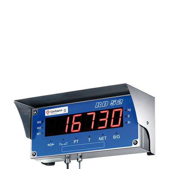 Imagem do repetidor de peso para pesagem integrada - RD52 HL