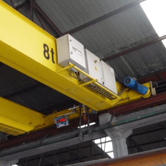 Imagem do controlador de peso para ponte rolante - SPPR