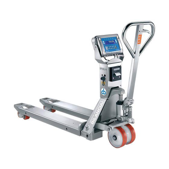 Imagem do sistema de pesagem industrial para porta paletes inox - PTM-D430