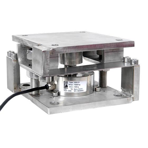 Imagem do sistema de pesagem para tegões - GPA-CDC